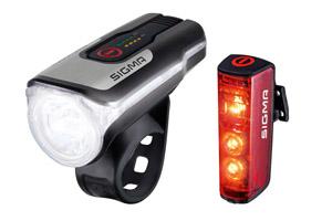 Batterie - Leuchten - Set