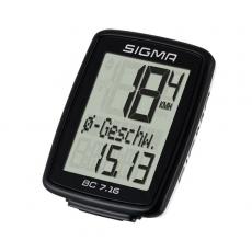 Sigma BC 7.16 Fahrradcomputer kabelgebunden