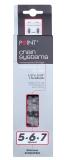 Point Kette SL 260 schwarz 5-6-7-fach 1/2 x 3/32 116 Gl. für Kettenschaltung