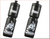 BDCP 2er Trinkflasche Set Black Dingo 1 Liter schwarz