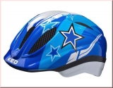 KED Kinder Fahrradhelm Meggy Blue Stars Gr.XS 44-49