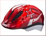 KED Kinder Fahrradhelm Meggy Red Stars Gr. XS 44-49