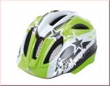 KED Kinder Fahrradhelm Meggy Green/Black Stars  Gr. S 46-51 cm
