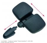 Point Endzone Vario Comfort Sattel Unisex schwarz
