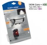 B&M Ixon Core/Ixxi Batterieleuchtenset 50 Lux, LED, Akku mit USB
