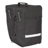BDCP Seitentasche rechts schwarz/silber Volumen: ca. 18Liter