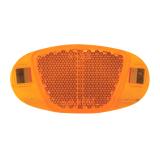 Ventura Speichenstrahler gelb/orange V-Design Einklipsen in Speiche