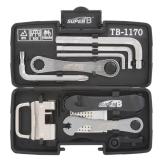 SUPER-B Werkzeug-Set Kompakt Set 24 in 1 in Box