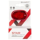 Smart Star Rückleuchte 1 LED mit Universalhalterung mit StVZO