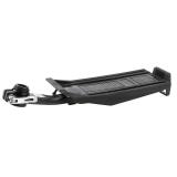 Alu-Sattelstütz-Gepäckträger GP-SG1 schwarz mit Non-Slip Auflage