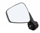 Zefal ''Dooback 2'' links Fahrradspiegel schwarz für Lenker Innenklemmung