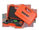 Brunox-Geschenk-Box: 3-tlg. Turbo-Spray/ Federgabel-Spray / Topkett-Tropfflasche