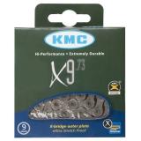 KMC Schaltungskette X9 9-fach 114Glieder inkl. MissingLink Verschlussglied