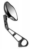 ergotec Rückspiegel M-88 schwarz-sand Alu, Links-und Rechtsmontage