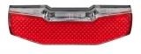 Axa LED Rücklicht Blueline Steady 50mm für Gepäckträger, mit Standlicht